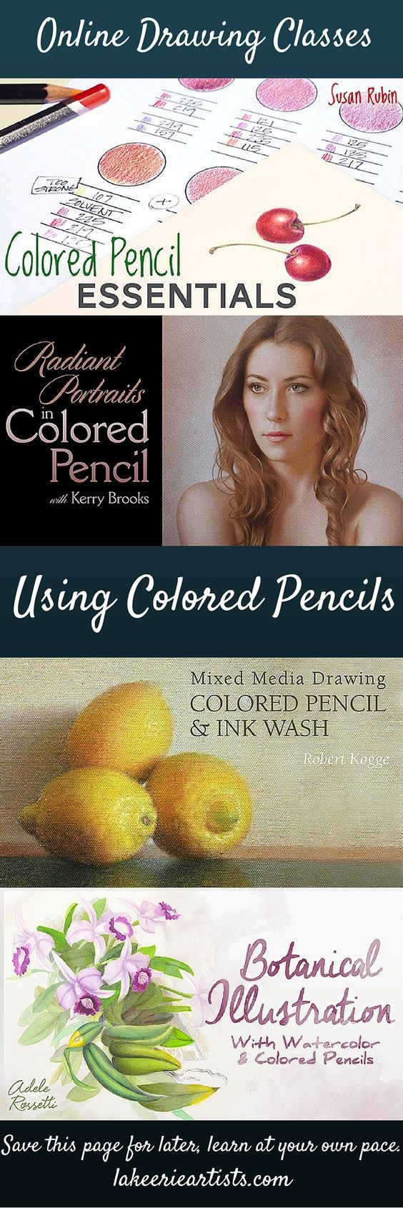 Co color to draw - Learn To Draw With Colored Pencils In A Wide Variety Of Techniques From Beginner On Up