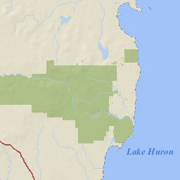 Interactive Travel Map | United States Forest Service | Huron- Manistee National Forest
