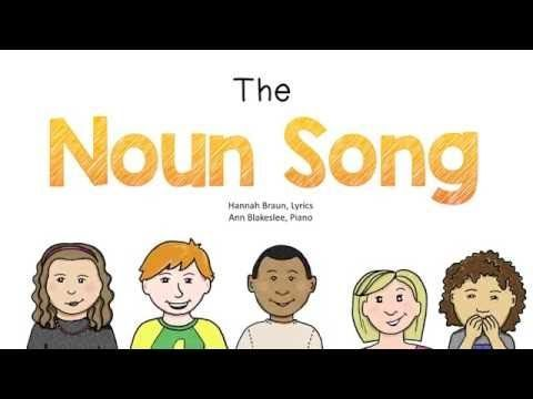 Noun Song with Video – The Classroom Key