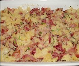 Sbriciolata di patate con spek e rosmarino (Cotto e mangiato)