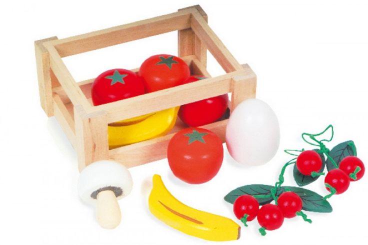 Skrzyneczka z owocami, elementy do sklepiku kolory-marzen.pl | http://www.kolory-marzen.pl/gotujemy,005001010001.html