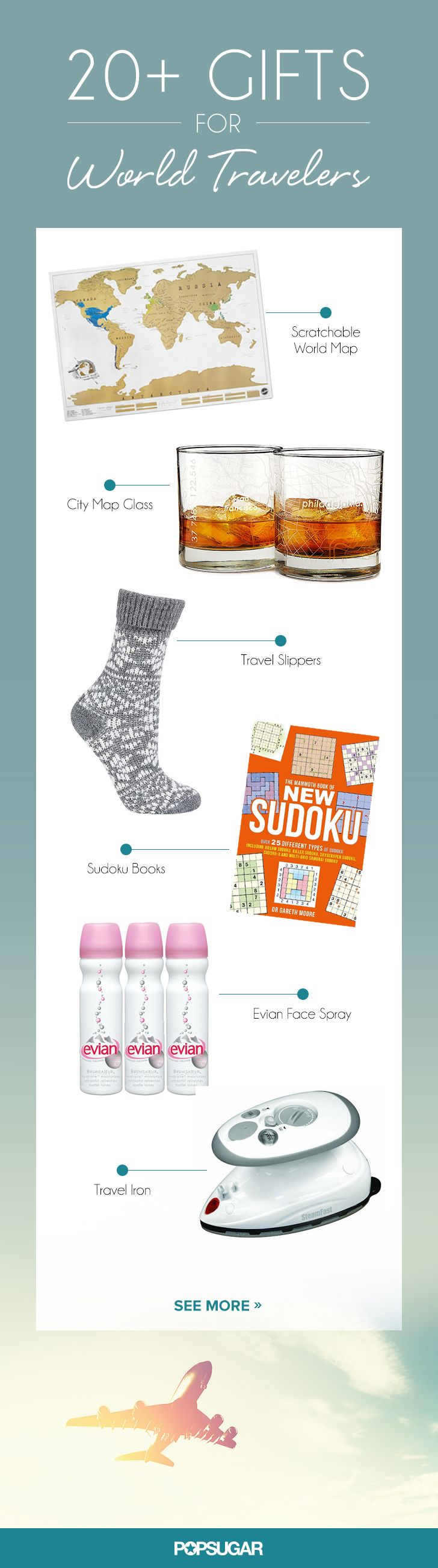 Affordable gift ideas for your friends and family with major wanderlust.