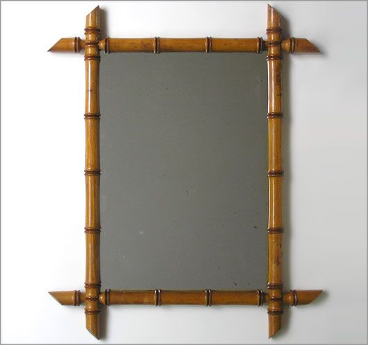 Victorian Faux Bamboo Framed Mirror Mirrors Pinterest