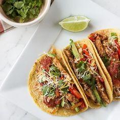 Chipotle Marinated Chicken Tacos recipe