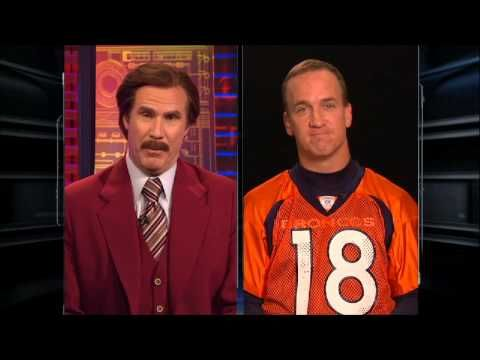 Here's the complete interview from ESPN's SportsCenter: | Watch Ron Burgundy's Hilarious Interview With Peyton Manning