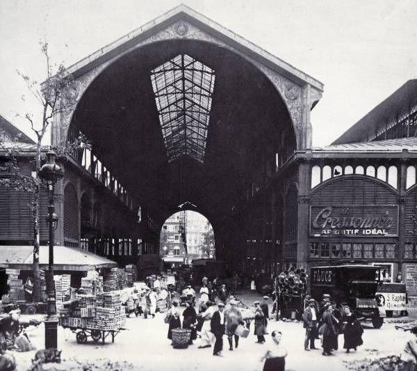 Victor baltard les halles centrales paris 1855 57 architektura 19 stole - Magasin les halles paris ...