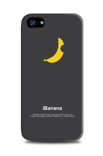 iBanana Black iPhone Case design by SmileIsMe for tees.co.id . This black iPhone case is also available for iPhone 4, 5, 5s and 5c  samsung galaxy s3, s4 and samsung galaxy note 2 and 3. http://www.zocko.com/z/JFC8B