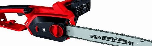 Einhell GH-EC 2040 2000W Tooless Electric Chainsaw with 40cm Oregon Bar A lightweight and modern electric chainsaw features a largely maintenance-free construction. Tool-free chain tensioning and changing. Metal gear for long life. Ergonomic (Barcode EAN = 7557899754307) http://www.comparestoreprices.co.uk/latest2/einhell-gh-ec-2040-2000w-tooless-electric-chainsaw-with-40cm-oregon-bar.asp