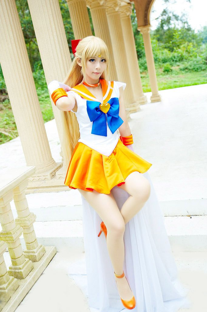 Sailor Moon Aino Minako Sailor Venus Cosplay Costume For Sale