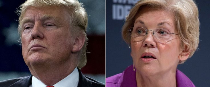 """Sen. Elizabeth Warren calls Donald J. Trump a """"loser"""" and """"a serious threat.""""  """"The way I see it, it's our job to make sure @realDonaldTrump ends this campaign every bit the loser that he started it."""""""