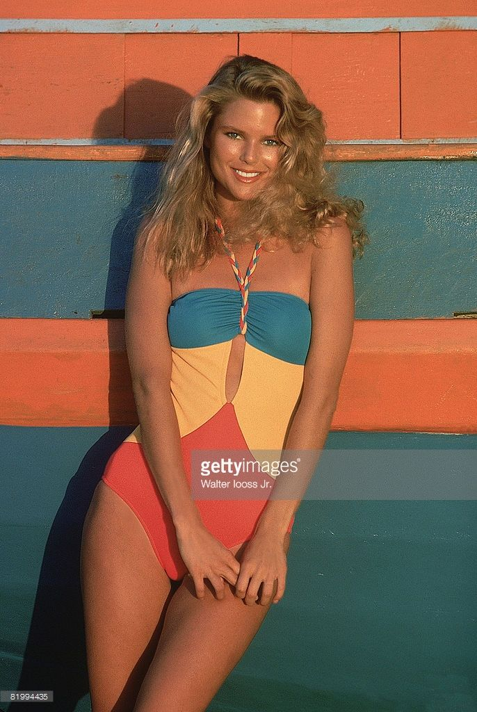 News Photo : Model Christie Brinkley poses for the 1978 Sports...