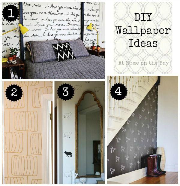 DIY Wallpaper Ideas | Idea paint, Paint pens and Wedding ...