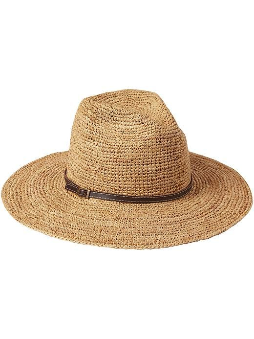 Summer Style: Wide Brim Straw Hat