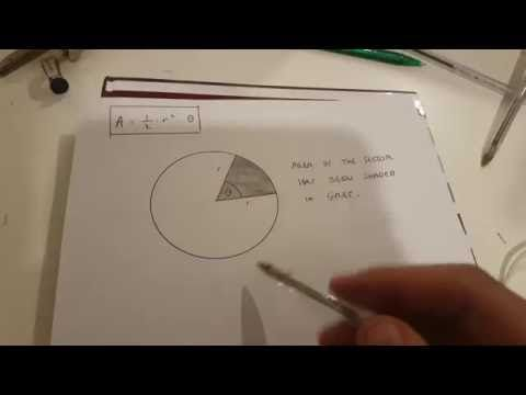 Area of a sector proof using a constant of proportionality plus area of a circle  #area_of_a_sector #areas #sectors #mathematics