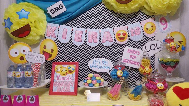 Emojional Birthday  | CatchMyParty.com