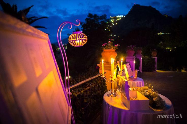 Candle light in TAORMINA!                                www.marcoficili.it