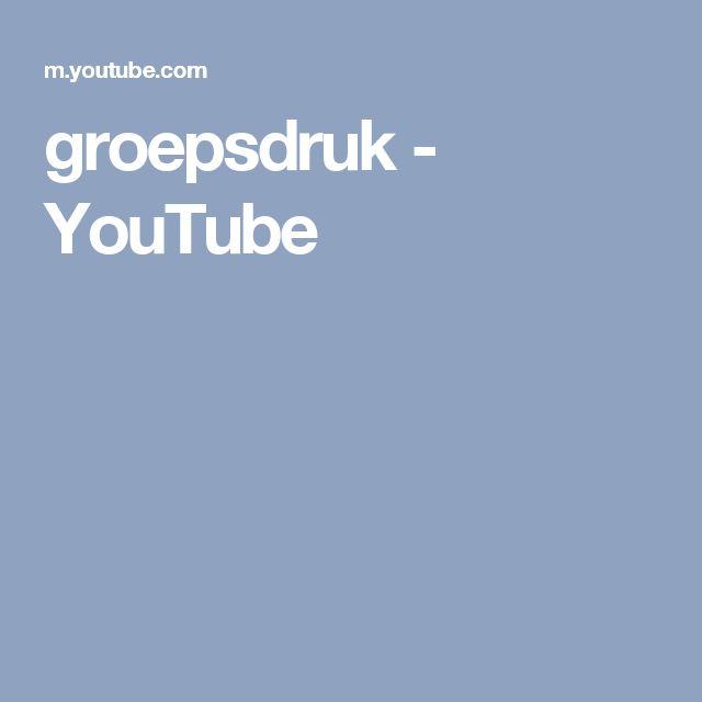 groepsdruk - YouTube