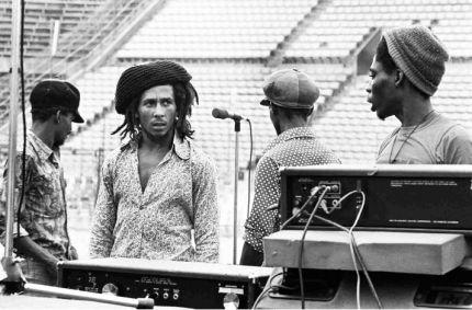 Bob Marley Dream Concert Rehearsal 1975