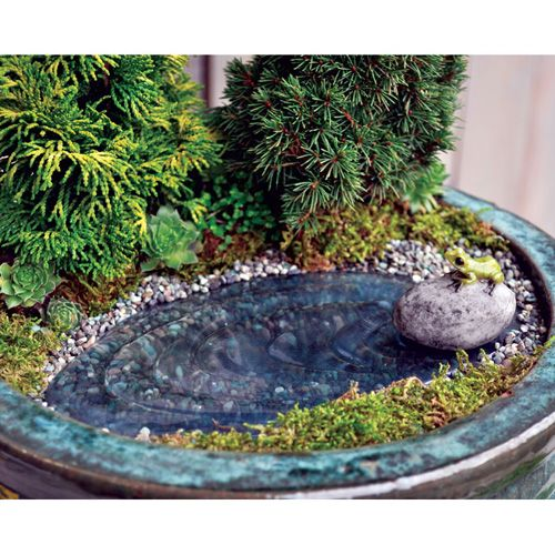 123 best images about fairy ponds and waterfalls on for Mini garden pool