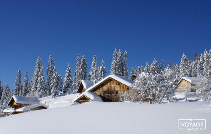 stations de ski en famille dans les alpes : praz de lys sommand
