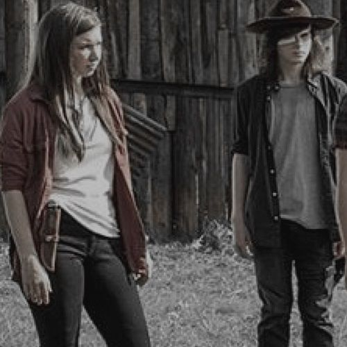 enid, the walking dead, and lq image