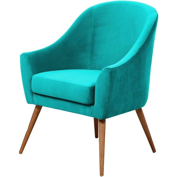 HAWKE U0026 THORN HERMAN ARMCHAIR  TURQUOISE ($715) ❤ Liked On Polyvore  Featuring Home
