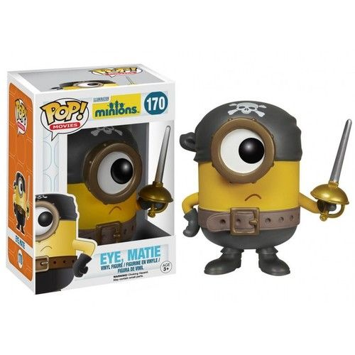 Gru's adorable Minions from the Despicable Me series have done the unthinkable! That infectious cuteness earned the little guys their very own Minions movie. Ages 3 and up.   /!\ WARNING: CHOKING HAZARD - Small parts. Not for children under 3 years.