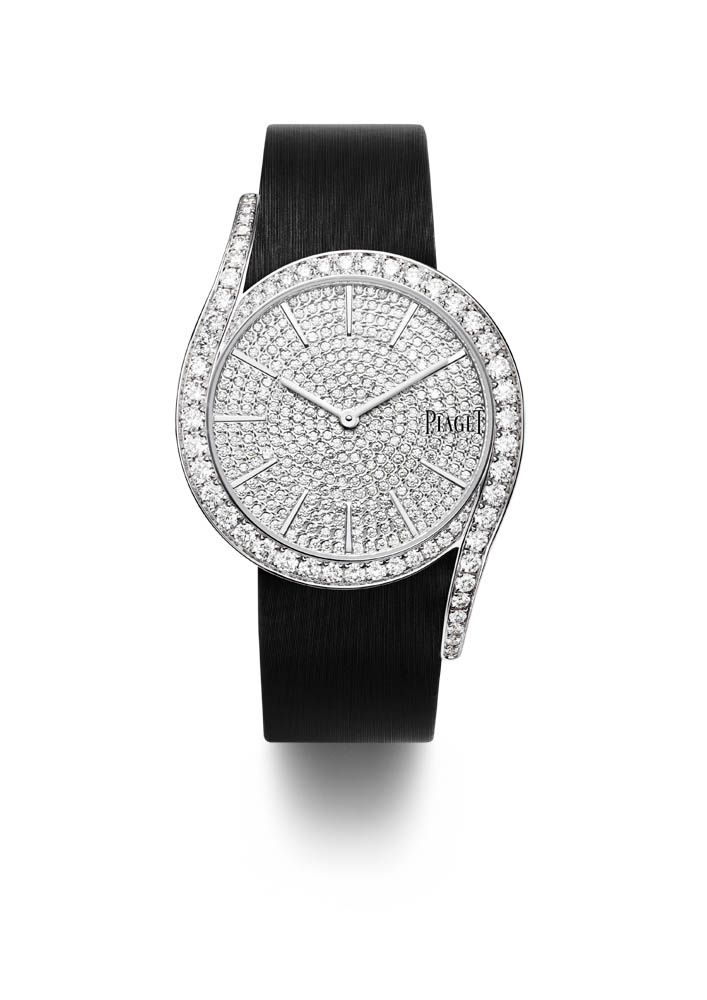 This is the Piaget Limelight Gala 38mm wristwatch worn by Jessica Chastain at the 2016 Met Gala