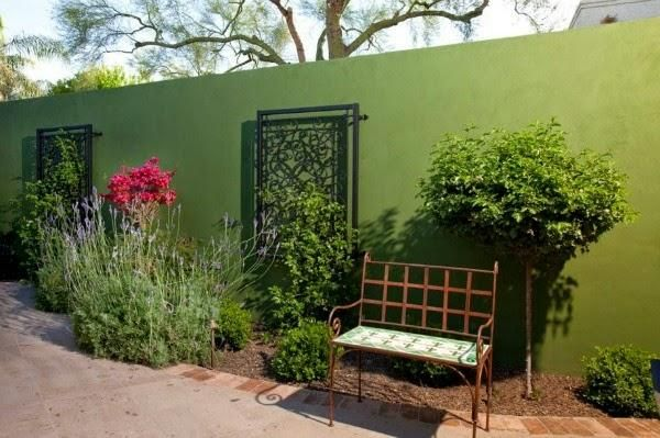 Colores para las paredes del patio o la terraza cuidar - Colores azules para paredes ...