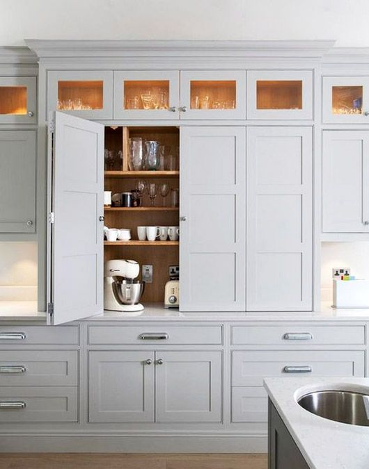 Gray Kitchen Cabinetry Inspiration Sfgirlbybay