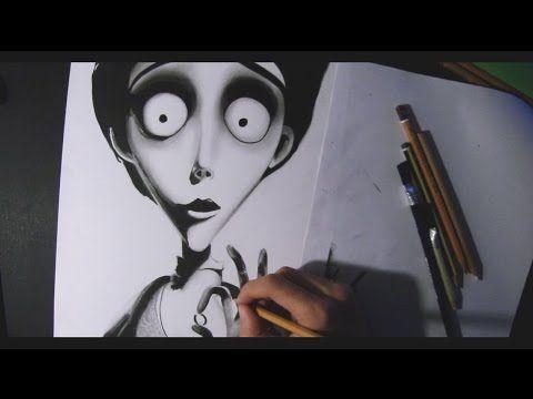 "Speed Drawing-Victor ""La sposa cadavere"" (The Corpose Bride) - YouTube"