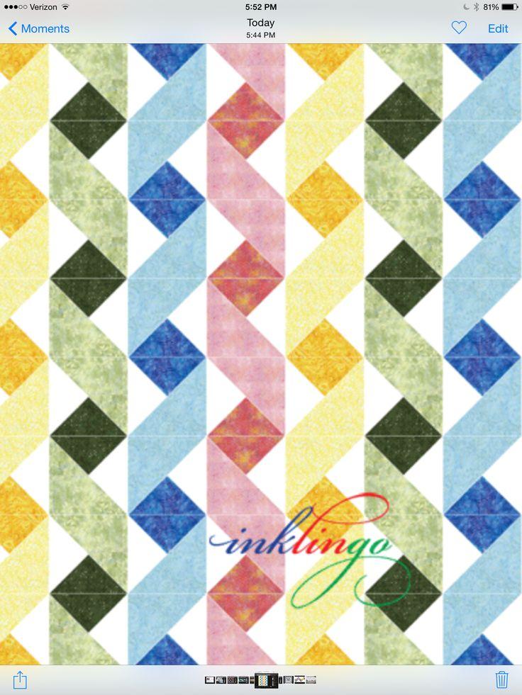 Na razie to tylko powiem że bardzo podoba mi się wzór, spróbuję uszyć patchwork. Wzór wydaje mi się łatwy do wykonania, mam nadzieję że sobie poradzę.