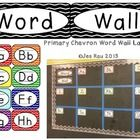 These Primary Chevron Word Wall Labels will brighten up your classroom while organizing your word wall.  They are easy to read, bright, and reinfor...