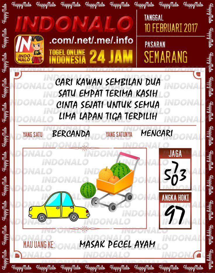 Angka Taysen 6D Togel Wap Online Live Draw 4D Indonalo Semarang 10 Februari 2017