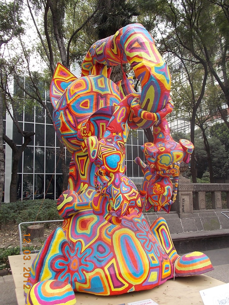 60 best alebrijes images on pinterest mexican folk art for Oaxaca mexico arts and crafts