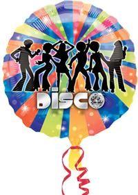 Disco, Folyo Balon Folyo balon, uçan balon, balon buketi, psrti balonu, temalı balon, balon süsleme