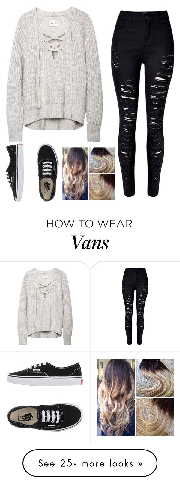 """Untitled #671"" by tokyoghoul1 on Polyvore featuring Vans, women's clothing, women, female, woman, misses and juniors"