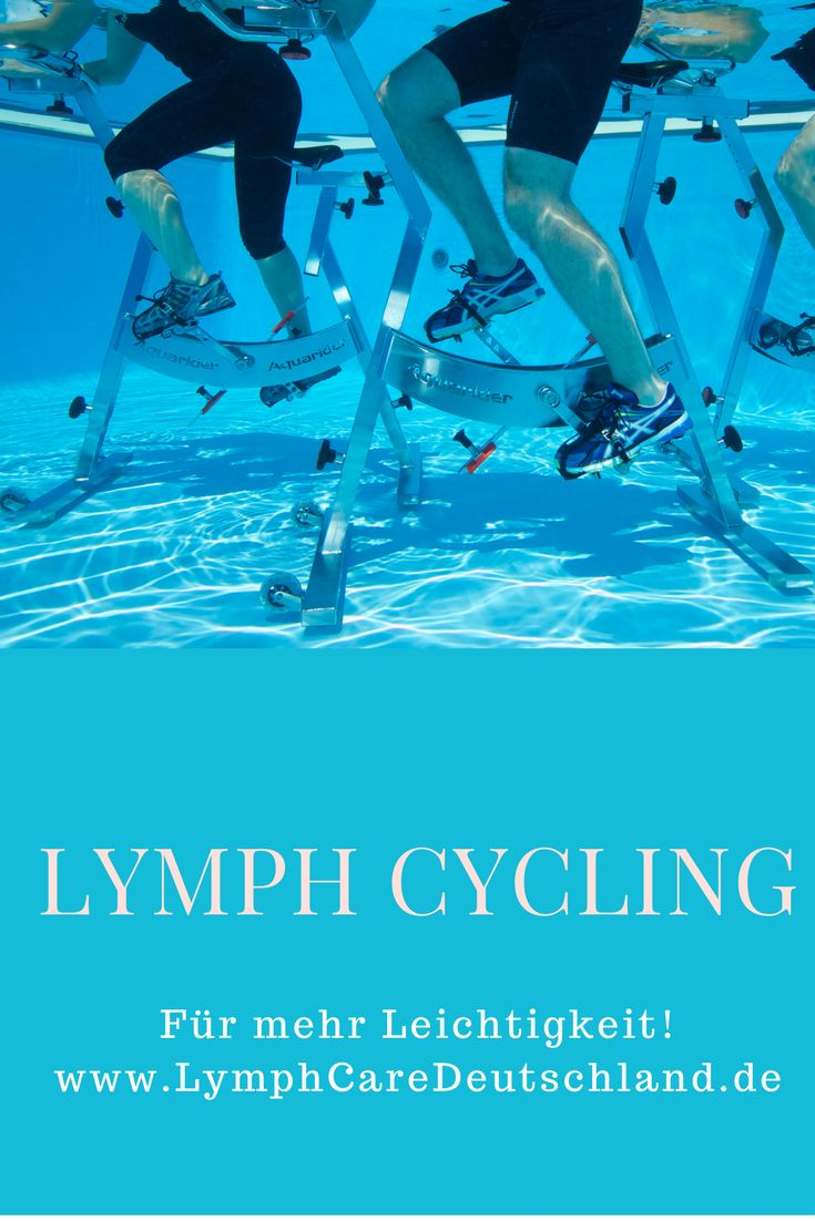 Lymphcycling für mehr Leichtigkeit. Das Training eignet sich für Personen jeglichen Fitnesslevels, zum Wiedereinstieg, zur Gewichtsreduktion, bei Bindegewebsschwäche, Lip- und Lymphödemen und für Diabetiker.