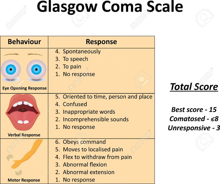 Image result for glasgow coma scale