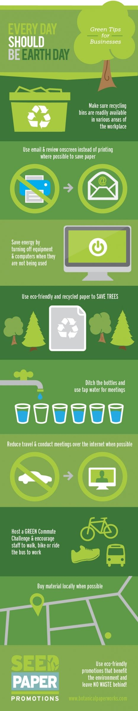 74 best seed paper promo ideas images on pinterest seed paper go eco friendly every day of the year with these green business tips reheart Gallery