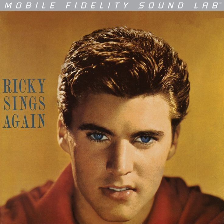 Ricky Nelson - Ricky Sings Again on Numbered Limited Edition LP from Mobile Fidelity Silver Label