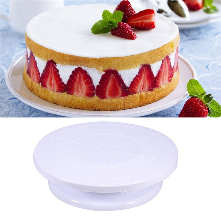 Cake Decorating Rotating Turntable Cake Stand. Just What You Need for Easy Cake Decorating!