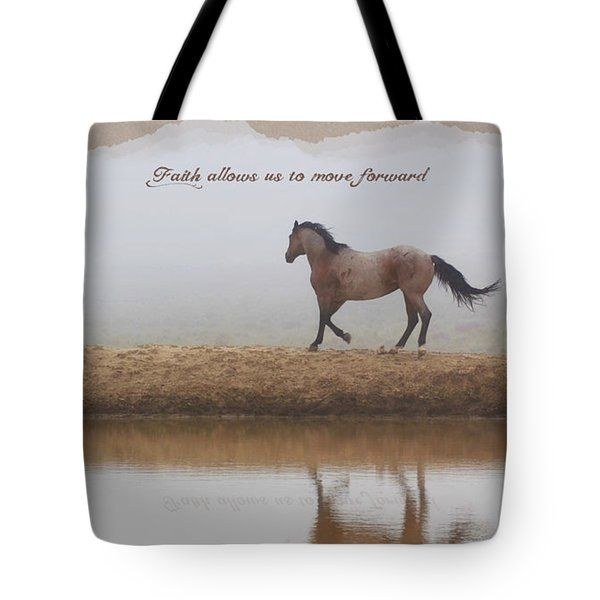 All Tote Bags - Mystical Beauty Inspiration horse, faith  Tote Bag by Amanda Smith