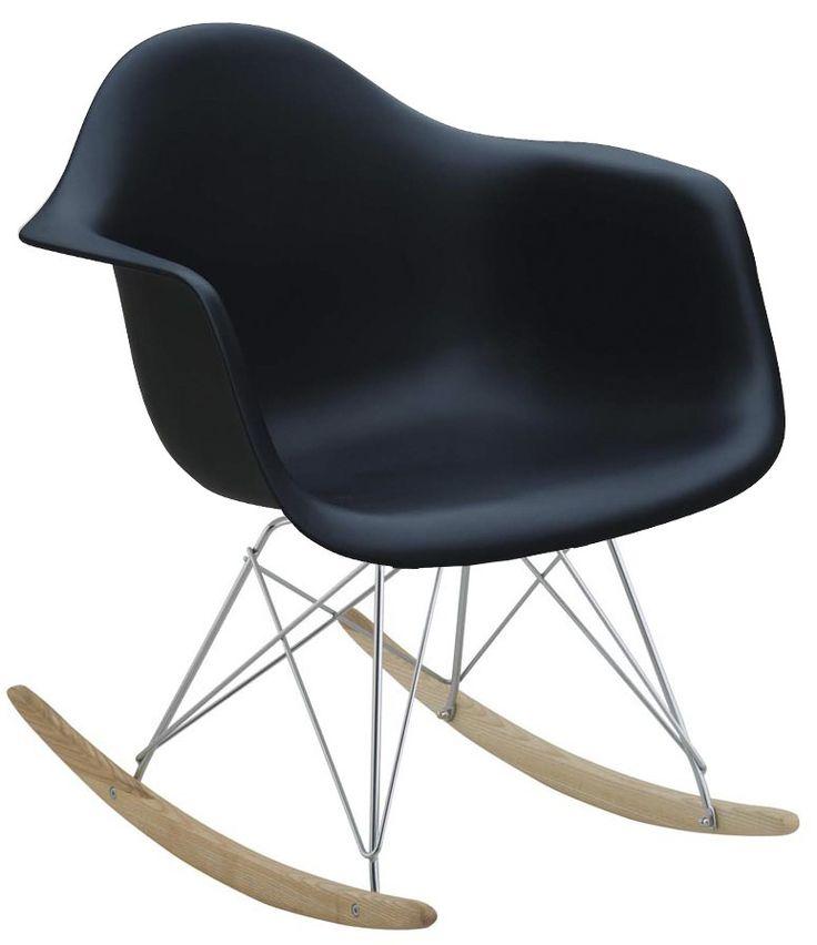 Cadeira de Balanço DSW Preto