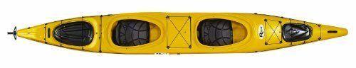 Kayaks Riot Kayaks Polarity 16.5 Tandem Kayak (Yellow 16Feet x 6Inch) #RiotKayaks