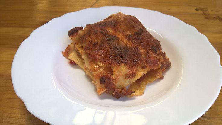 Lasagne rosse con basciamella