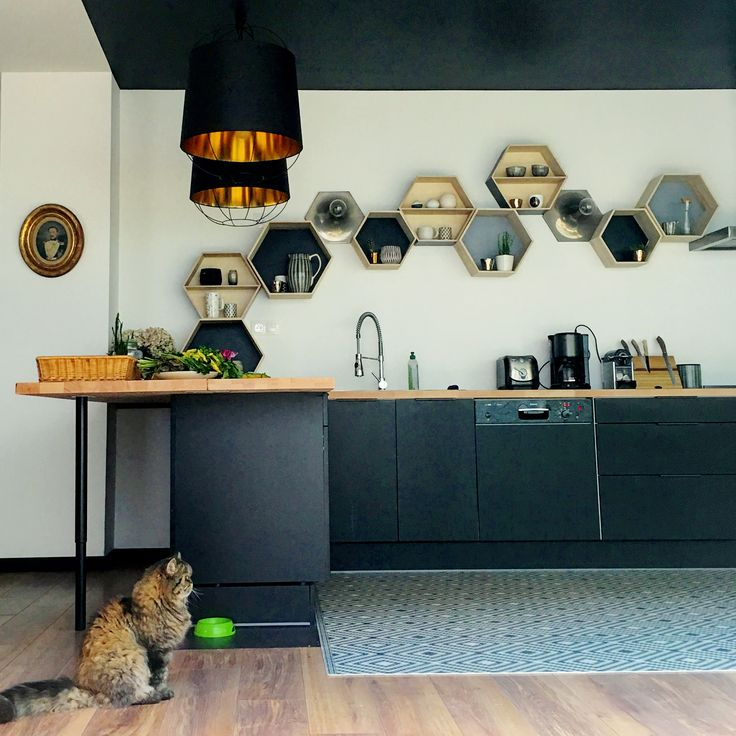 28 best Mon loft  la tribu du flocon images on Pinterest Loft - pose d un plan de travail cuisine