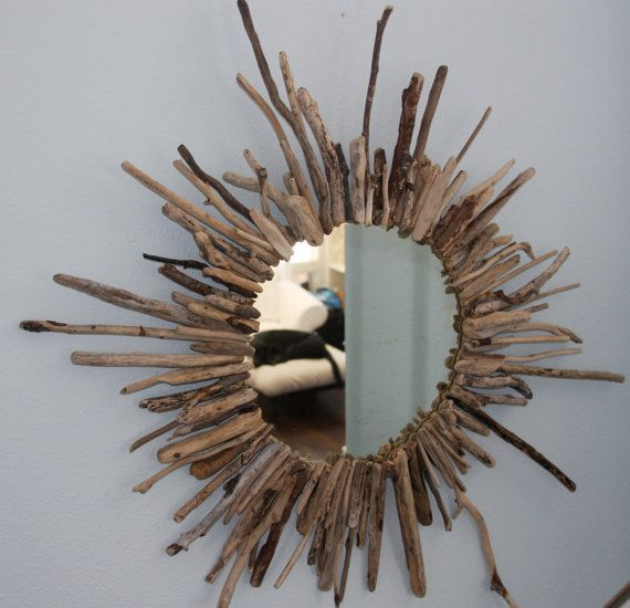 so there's a driftwood tree branch whimsical mirror selling for $ 275 on etsy but can be a DIY project for maybe $ 10 if that... hmm.... that's a tough choice - lol