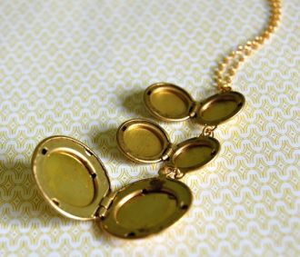 Gold Plated Trio Lockets