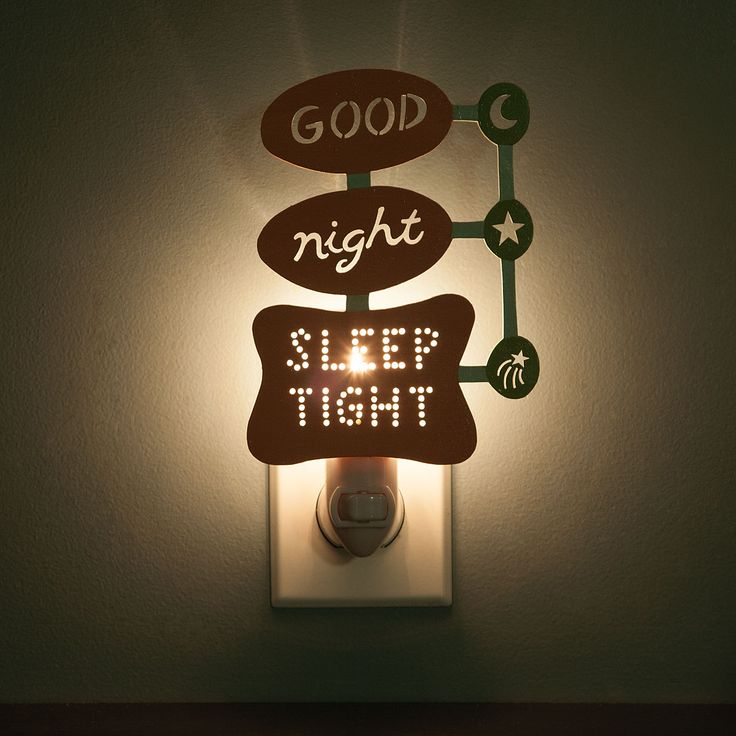RETRO GOOD NIGHT, SLEEP TIGHT NIGHTLIGHT | Googie Night Light | UncommonGoods